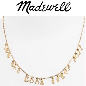 Madewell Let the Good Times Roll Necklace
